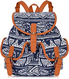 Canvas Backpack Backpack Purse Casual Daypack Travel Daypack Boho Bag