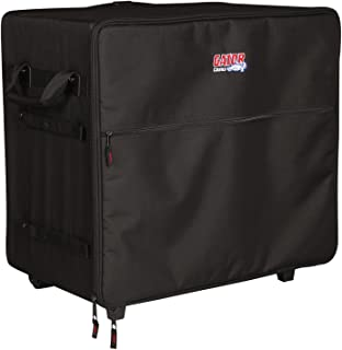 Gator Cases Transport Series Speaker Case with Retractable Pull Handle and Wheels; Fits Small PA Systems (G-PA TRANSPORT-SM)