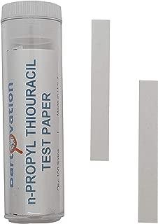 N-Propylthiouracil Test Paper for Genetic Taste Testing [100 Strips]