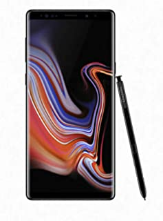 "Samsung Galaxy Note 9 Factory Unlocked Phone with 6.4"" Screen and 128GB (U.S. Version), Midnight Black"