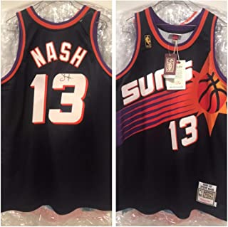 Steve Nash Autographed Signed Suns Authentic Jersey Beckett Authentic Loa