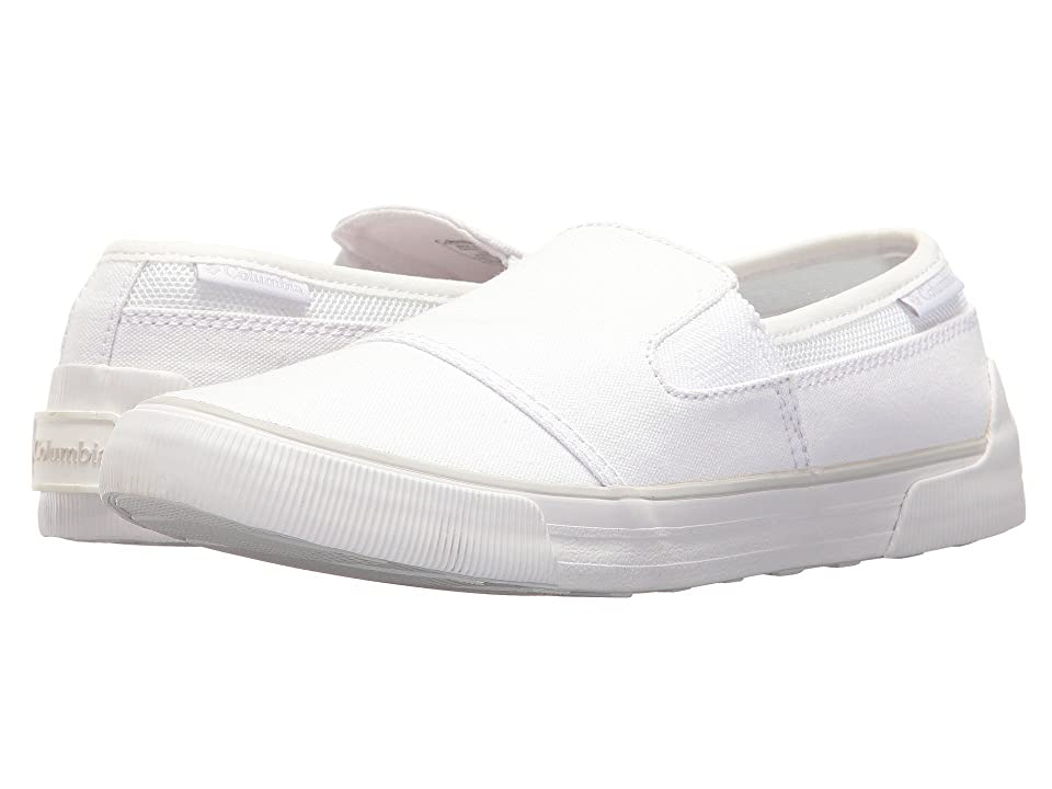 Columbia Goodlife Two Gore Slip (White/Silver Grey) Women
