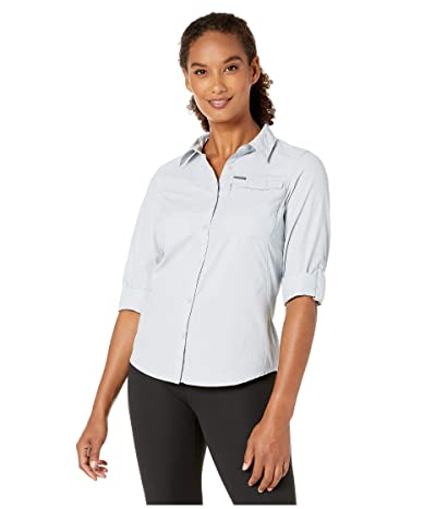 Columbia Silver Ridgetm 2.0 Long Sleeve Shirt (Cirrus Grey) Women