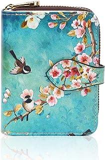 APHISON レディース カードケース じゃばら 財布 スキミング防止 クレジットカードケース 磁気防止 花柄 可愛い ギフト 589-1
