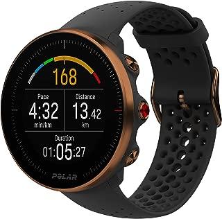 Polar 90080198 Vantage M Multi Sport GPS Heart Rate Watch - Black/Copper (M/L)