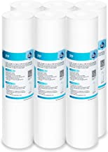 Membrane Solutions 20 Micron Sediment Polypropylene Water Filter Replacement Cartridge 10