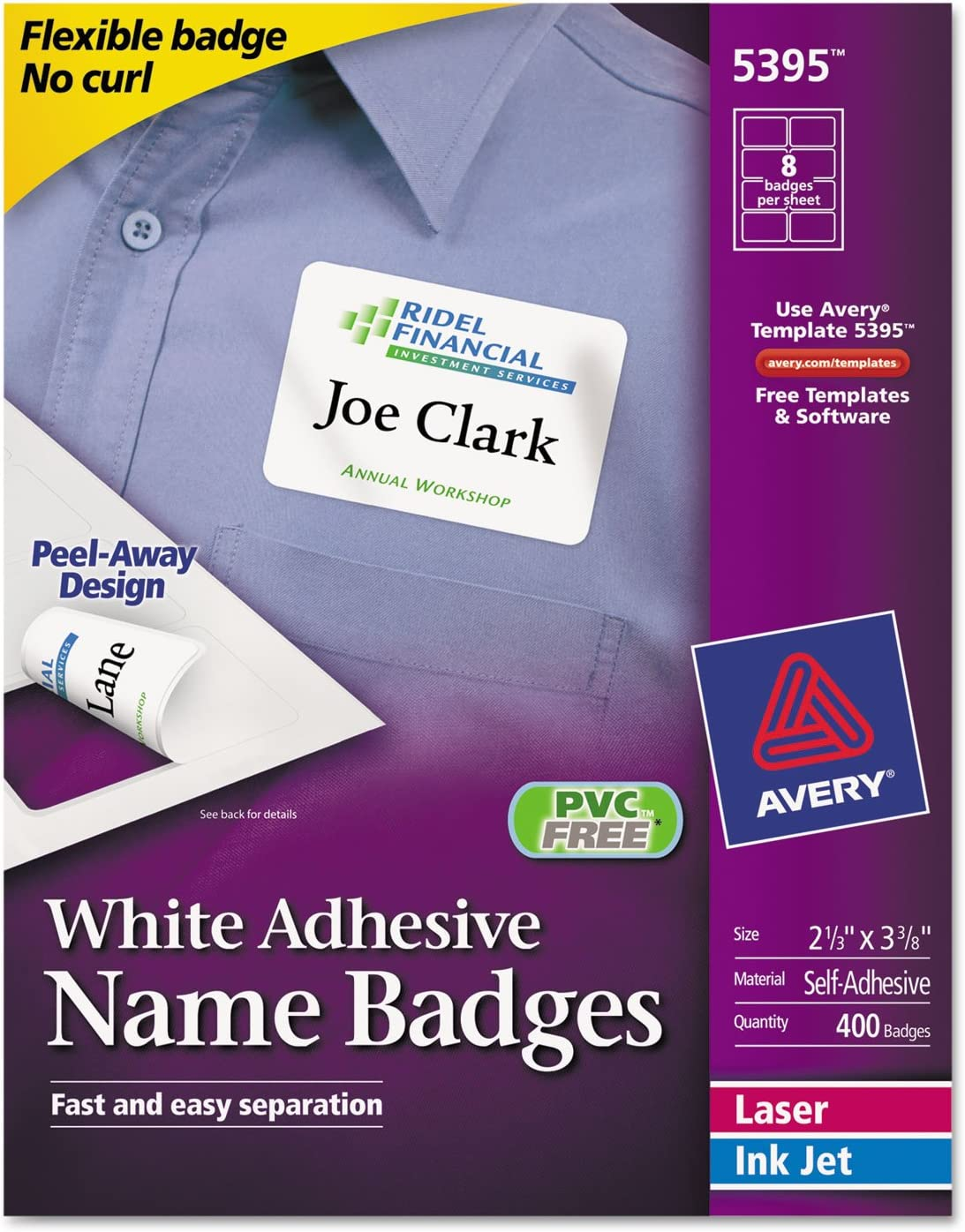 White Adhesive Name Max Max 79% OFF 70% OFF Badges - 5395
