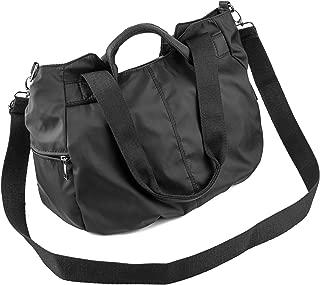 Women Fashion Large Tote Shoulder Handbag Waterproof Multi-function Nylon Travel Crossbody Bags