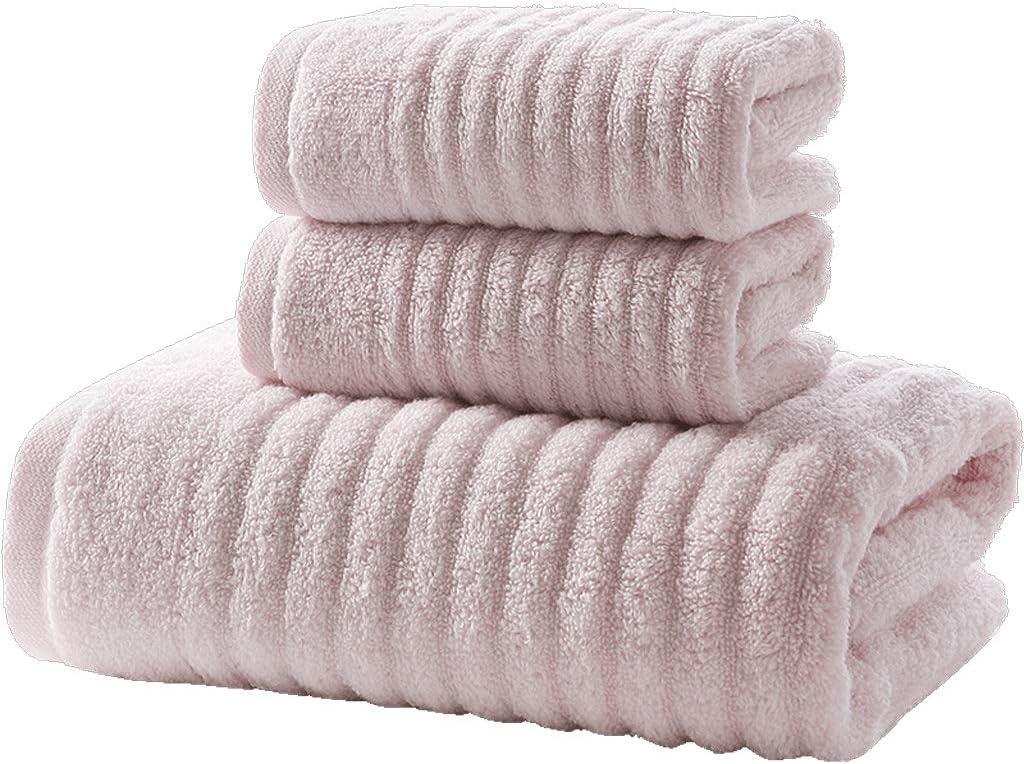 Department store Bath Sheet Towel Set 3-Piece Cotton 140X72CM Ranking TOP11 2 Linen F