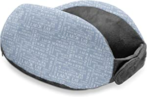 YouCustomizeIt Labor Day Travel Neck Pillow