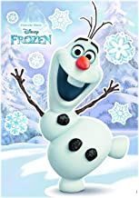 Komar - Disney - Deco-Sticker OLAF - 50 x 70 cm - Muurtattoo, Muurschildering Muursticker, Muursticker, Muurtattoo, Sneeuw...