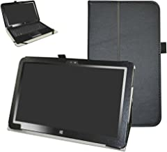 Insignia 11.6 NS-P11W7100 / NS-P11A8100 Case,Mama Mouth PU Leather Folio Stand Cover for..