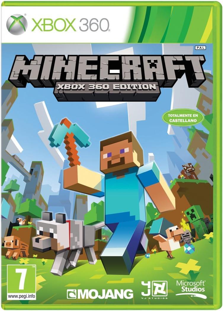 Mejores Juegos para Xbox 360 de todos los tiempos Minecraft