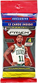 2017/18 Panini PRIZM Basketball HUGE EXCLUSIVE Factory Sealed JUMBO FAT PACK with 3 Special STARBUST PRIZM Cards that can ONLY Be Found in this Product! The HOTTEST NBA Product of the Year! WOWZZER!