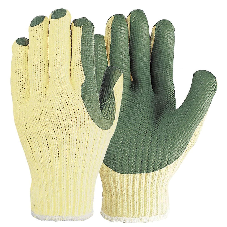 現れるオートマトン賠償おたふく手袋 強力ゴム張り手袋 3双組 315 グリーン