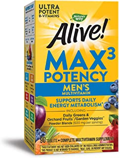 Nature's Way Alive! Max3 Daily Men's Multi