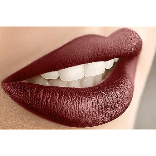 Matte Burgundy Lipstick Amazoncom