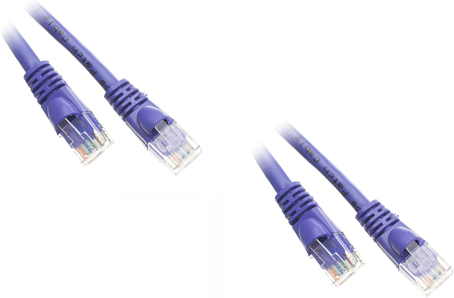 7-Feet Cat6 Purple Ethernet Patch Boot - Snagless Challenge the lowest price of Japan New product! New type ☆ Molded Cable