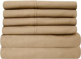 Best 100 cotton california king sheet set Reviews