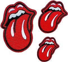 Sequin patch Rolling Stones patches Large Tongue patches 13pc//set