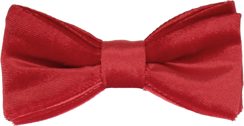 Mrs Bow Great interest Tie Kansas City Mall Velvet Self-Tying Standard Ties Pre-Tied