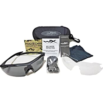 Wiley X(ワイリーエックス) WX VAPOR ヴェイパー 2枚レンズ付 APEL 米軍認証 防弾サングラス【日本語説明書付き】【並行輸入品】