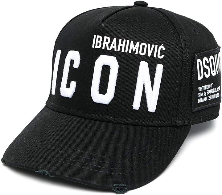 Cappello zlatan ibrahimovic dsquared - ibrahimovic icon B08XJQSFQY