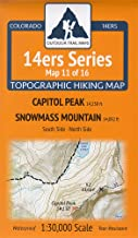 Colorado 14ers Maps Series 11 of 16 - Capitol | Snowmass