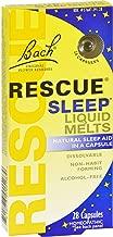 Bach Rescue Sleep Liquid Melts, Dissolvable Capsules 28 ea ( Pack of 3 )