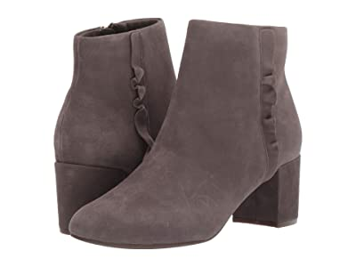 Rockport Total Motion Oaklee Ruffle Boot (Taupe Suede) Women