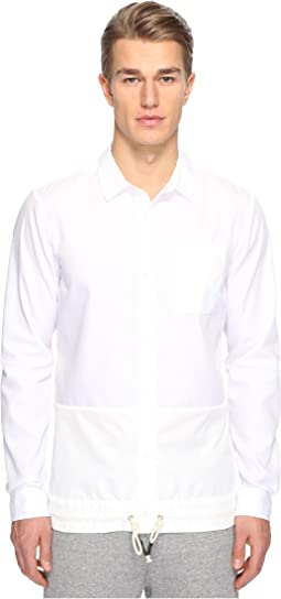 Split Button Front Shirt