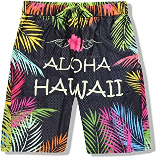 XIELH Men'S Beach Shorts, Loose Quick Dry Swim Trunks Drawstring Summer Short Pants For Men, Boys 3D Beach Shorts