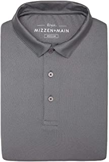 Phil Mickelson Mens Golf Polo, Quick Dry and UPF 30+