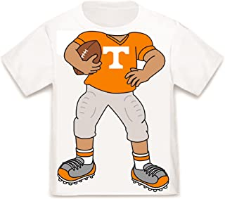 Future Tailgater Tennessee Volunteers Heads Up! Football Baby/Toddler T-Shirt