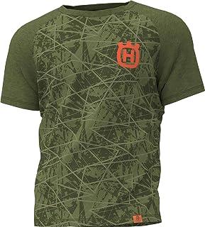 Husqvarna Camiseta Manga Corta Verde