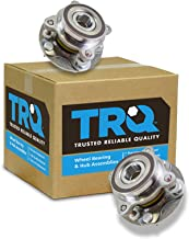 TRQ Front Wheel Bearing & Hub Assembly Pair for Toyota Pickup Truck SUV