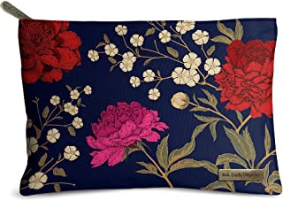DailyObjects Midnight Chrysanthemums Jumbo Stash Pouch
