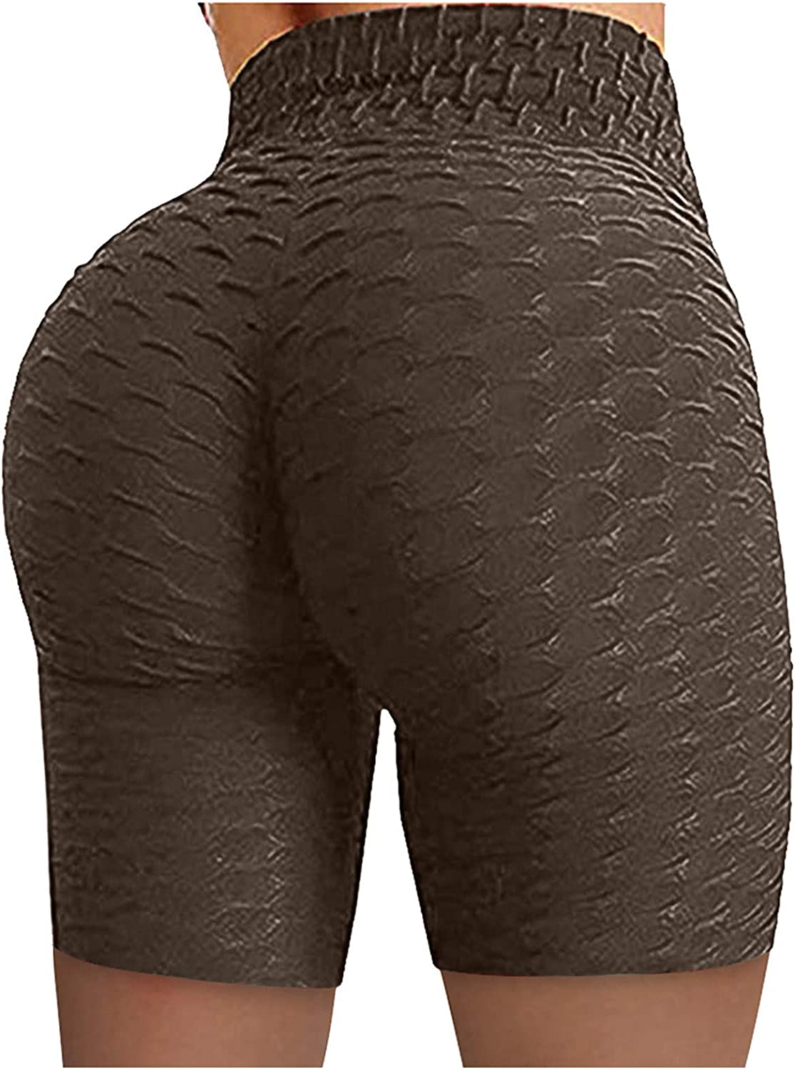 Active Leggings Workout Shorts for Women,Women's Workout Running Short High Waisted Tummy Control Athletic Yoga Shorts