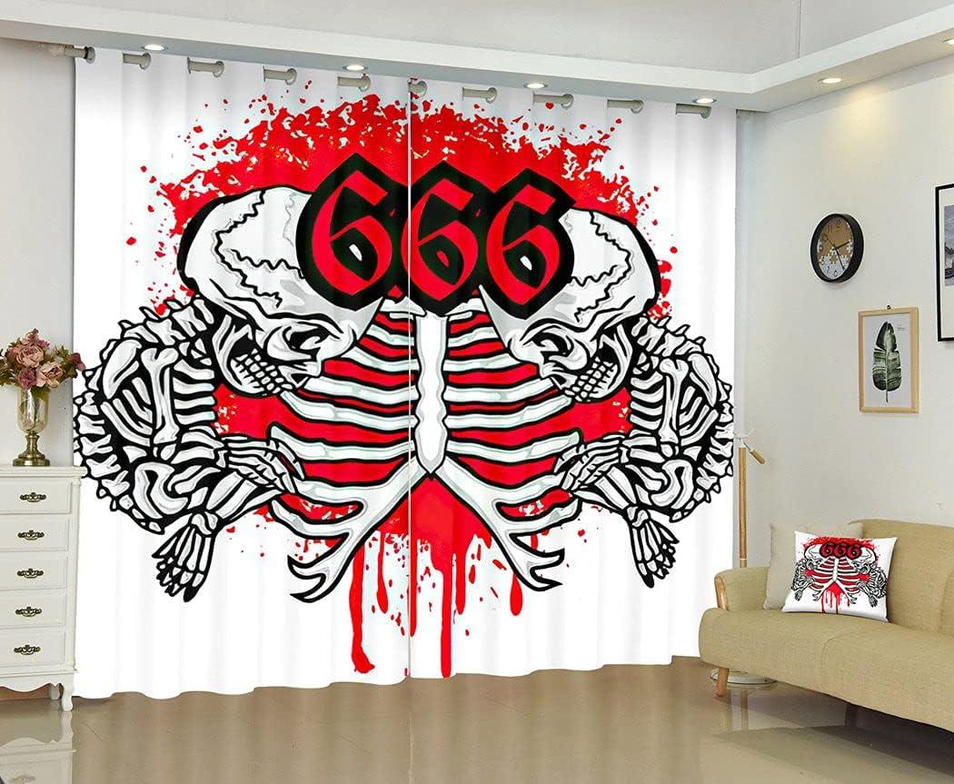 Artsure latest Baphomet Blackout Curtains Philadelphia Mall Satanist for Bedroom