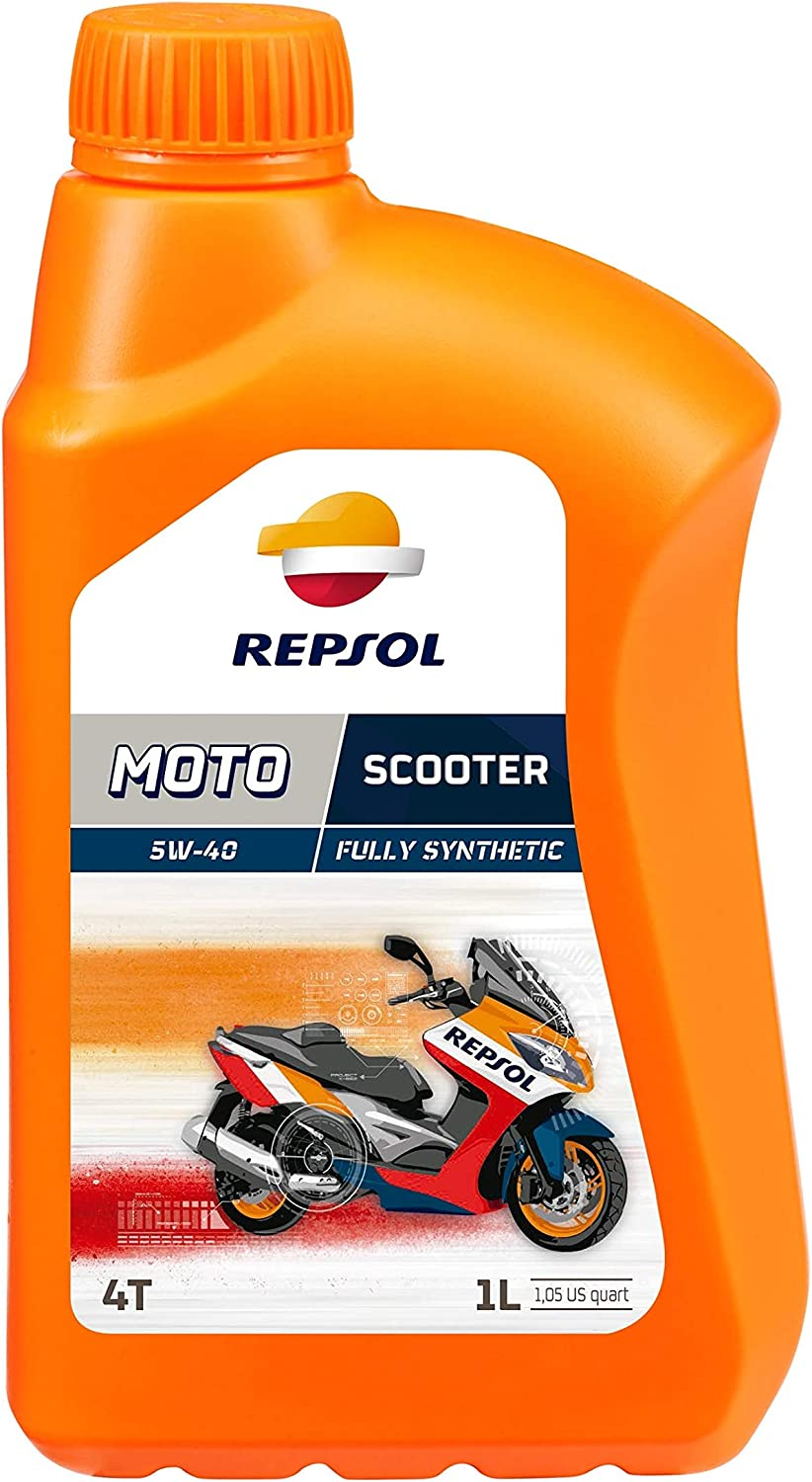 Repsol Moto Scooter 4t 5w40 Motorcycle Engine Oil 1 L Auto