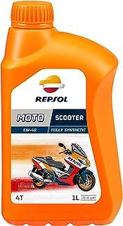 Repsol RP164L51 Moto Scooter 4T 5W-40 Aceite de Motor,