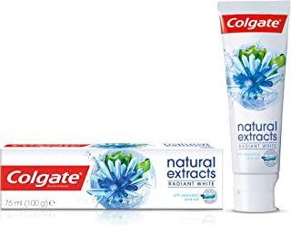 Colgate Natural Extracts Radiant White with Seaweed and Salt Toothpaste, 75ml