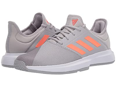 adidas GameCourt (Grey Two/Signal Coral/Grey Three) Women