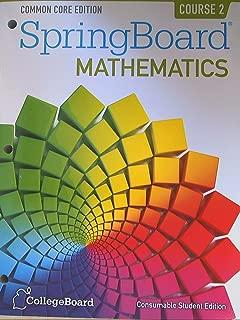 Best springboard mathematics course 2 online Reviews