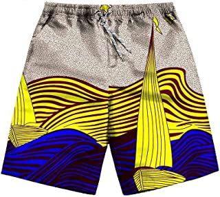 private afripride African Beach Shorts for Women Plus Size Sexy Casual Dashiki Pants Ankara Print Summer
