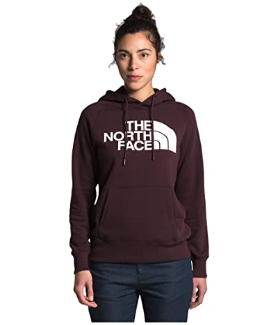 The North Face Half Dome Pullover Hoodie (Root Brown/TNF White) Women