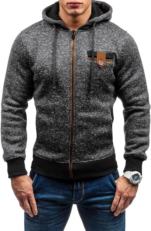 Aayomet Men's Pullover Hoodies Zip up Patchwork Long Sleeve Sweatshirts Casual Workout Sport Tops Sweaters Blouses
