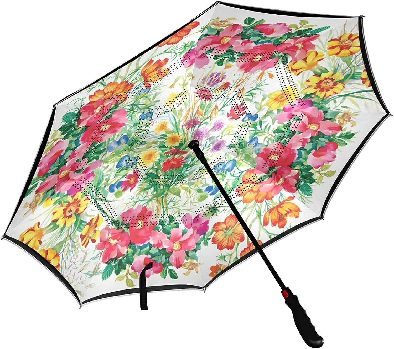 MNSRUU Inverted Umbrella - Arlington Mall Double Layer UV Protection Sun price Umbrel