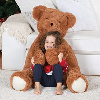 Vermont Teddy Bear Huge Teddy Bear - Large Teddy Bears Stuffed Animals, 3 1/2 Foot, Cuddle
