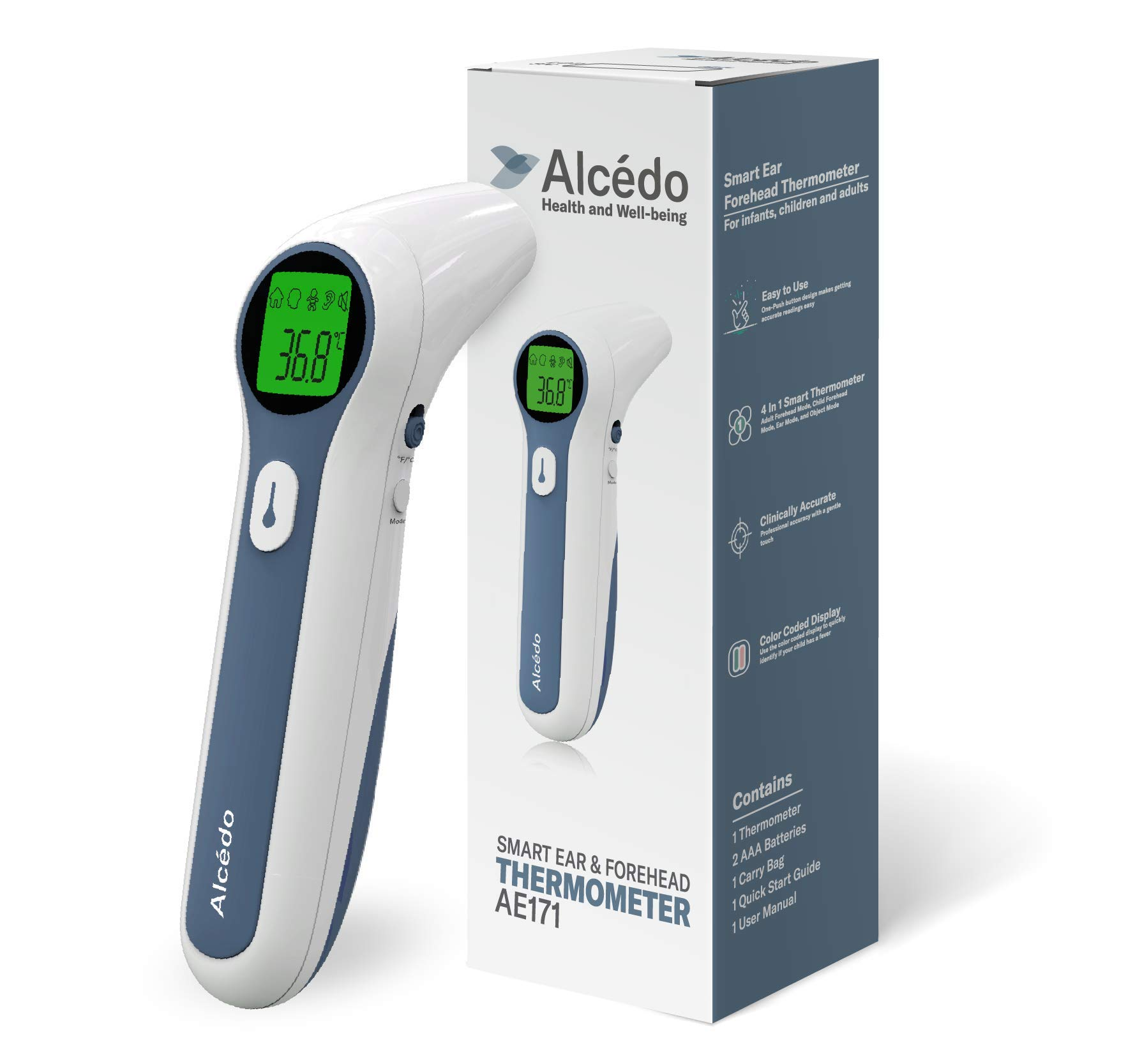 Thermometer Alcedo Digital Forehead Infrared